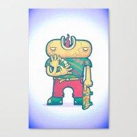 brain free Canvas Print