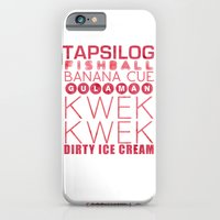 iPhone & iPod Case featuring Food Manila by Lilzn