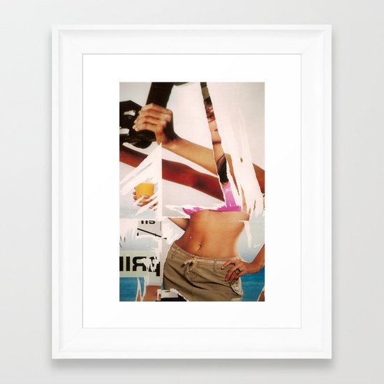 Marketing Illusion Framed Art Print