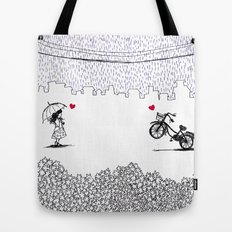 Little Love Story Tote Bag