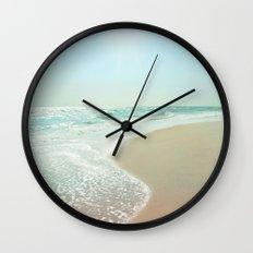 Good Morning Beautiful Sea Wall Clock