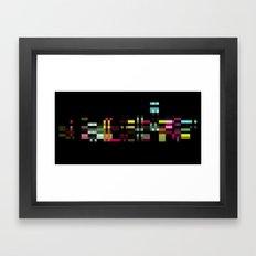 PXL Framed Art Print