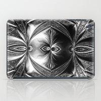 Abstract.White+Black Pea… iPad Case