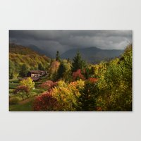 It's coming! Canvas Print