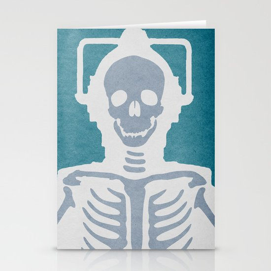 Cyberman Stationery Card