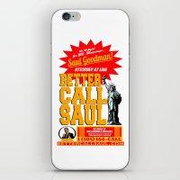 BETTER CALL SAUL  |  BRE… iPhone & iPod Skin