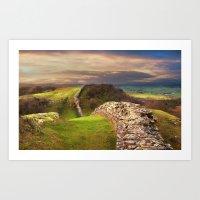 Hadrian's Wall Art Print