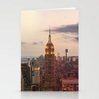 Skyline NYC Stationery Cards
