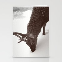 tender creature  Stationery Cards