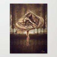 Dancerulean Canvas Print
