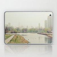 Chicago Fog Laptop & iPad Skin