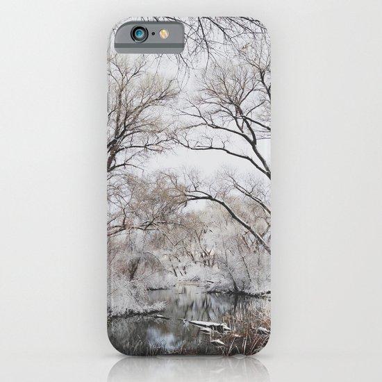Winter Creek Canopy iPhone & iPod Case