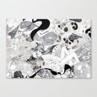 Kʌ́m Canvas Print