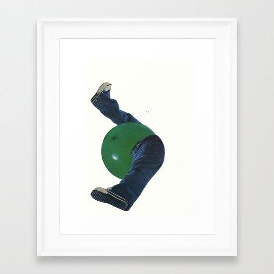kickball Framed Art Print