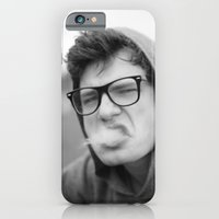 iPhone & iPod Case featuring Smoking by Frederic Streminski