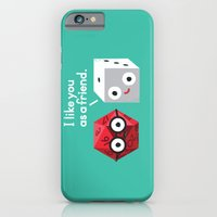 iPhone Cases featuring No Dice by David Olenick
