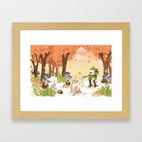 Cloudseeders Autumn Harv… Framed Art Print