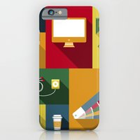 iPhone & iPod Case featuring Designer flat tools by Rosa Puchalt