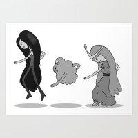 Adventure Time: Marcelin… Art Print