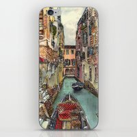Autumn In Venice iPhone & iPod Skin