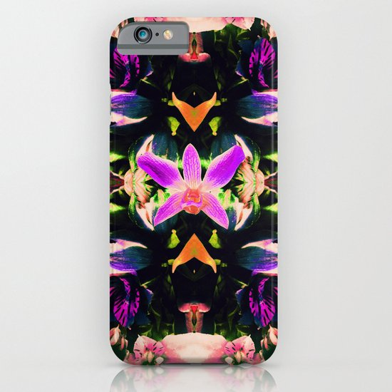 Down The Orchid Hole iPhone & iPod Case
