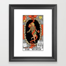 XXI-The World Framed Art Print