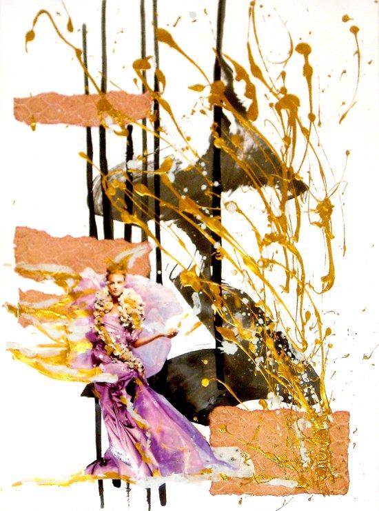 Goldengirl Canvas Print