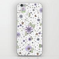 Violetas iPhone & iPod Skin