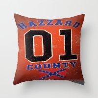 The Duke's A Hazzard! Throw Pillow