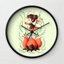 Spring Melody Wall Clock