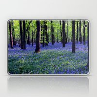 Drowning In The Bluebell… Laptop & iPad Skin