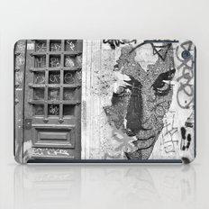 Paris, somewhere on a wall iPad Case