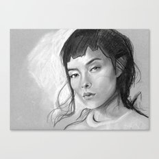 Charcoal Drawing No. 3 Canvas Print