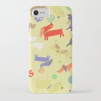 dogs iPhone & iPod Cases featuring Dogs by Amy Schimler-Safford