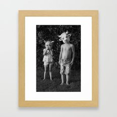 Children  Framed Art Print