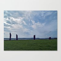 The Stones Of Stenness Canvas Print