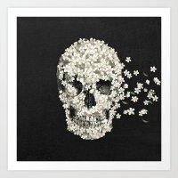 A Beautiful Death  Art Print