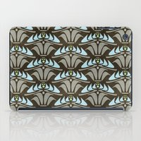 Blue - Arts and Crafts Inspired Stylized Floral Pattern - Susan Weller iPad Case
