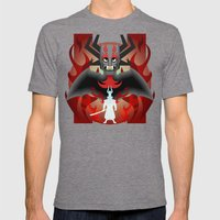 I'm the DK now samurai Jack Mens Fitted Tee Tri-Grey SMALL