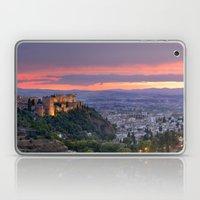 The Alhambra And Granada… Laptop & iPad Skin