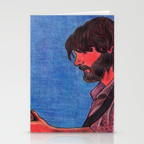 John Bell- Close Up Stationery Card