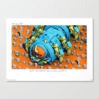 POP HELL #8 Canvas Print