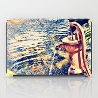 Waterfountain iPad Case