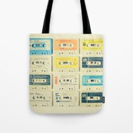 Tote Bag featuring All Tomorrow's Parties by Cassia Beck