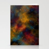 Final Frontier Abstract 2 Stationery Cards
