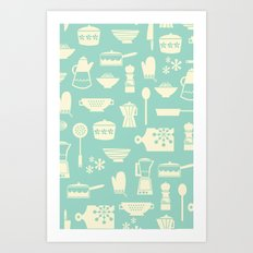 Kitchen Culture Art Print