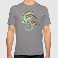 Fig. 36 Mens Fitted Tee Tri-Grey SMALL