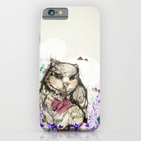 iPhone & iPod Case featuring Little Owl by Jo Cheung Illustration