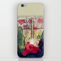 Girls & Video Games iPhone & iPod Skin