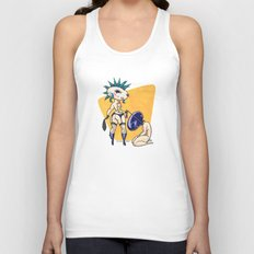 Time for Walkies! Unisex Tank Top